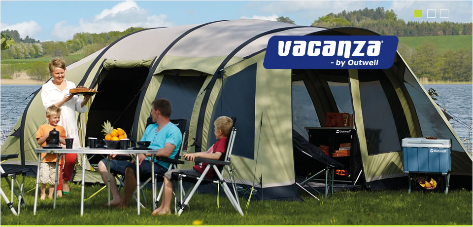 Vacanza by Outwell & Halfords | Outwell | Vacanza | Vacanza Camping Range
